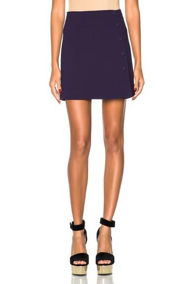 Double Crepe Skirt