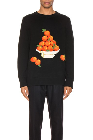 Pyramid of Oranges Pullover