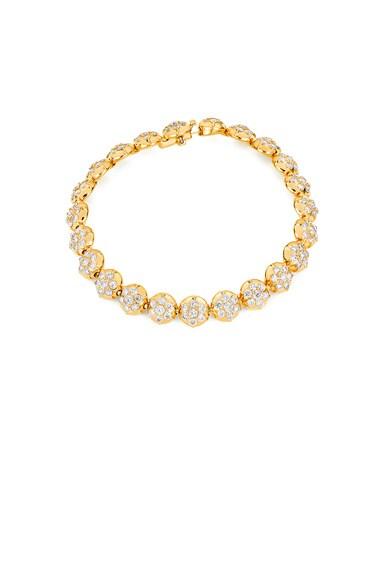 Crown Tennis Bracelet