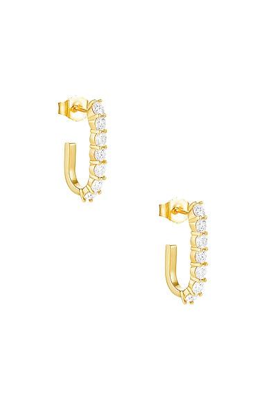 Sparkler Pin Earrings