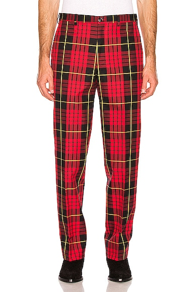 Classic Plaid Trousers
