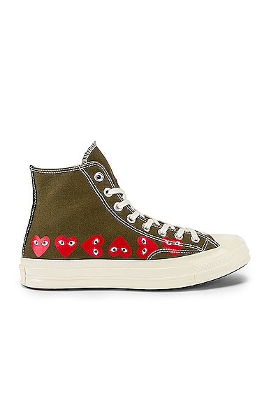 Emblem Hi Top Sneaker
