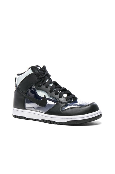Nike PVC High-Top Sneakers