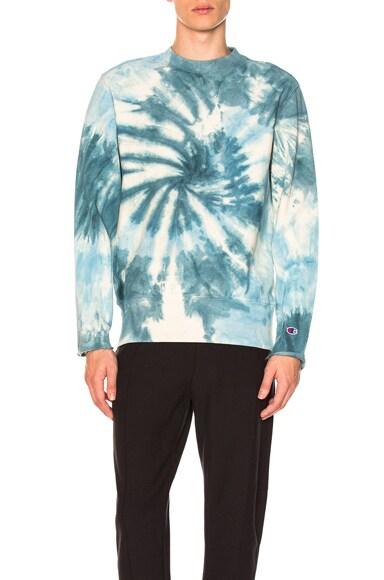 68 Weave Crew Tie Dye Sweatshirt