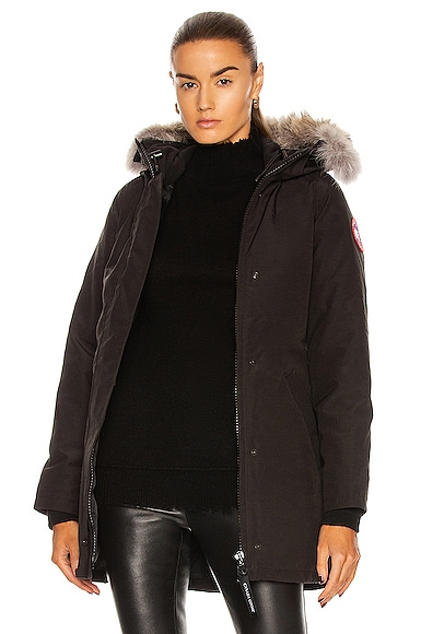 Victoria Parka With Coyote Fur