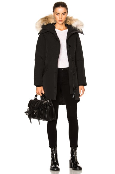 Rossclair Parka With Coyote Fur