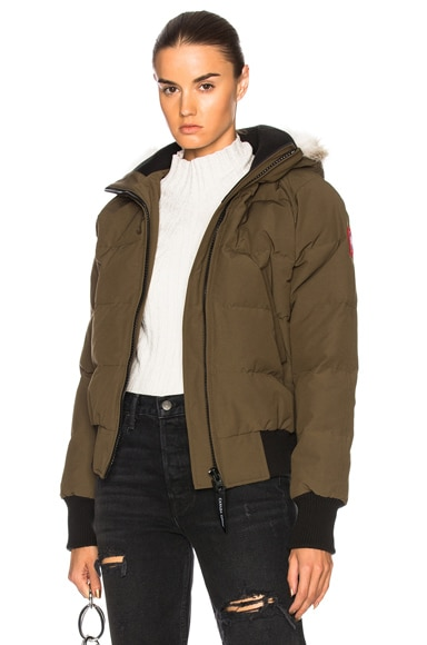 Savona Bomber With Coyote Fur