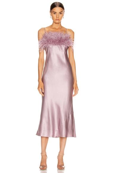 Cinq À Sept Dresses CINQ A SEPT CERISE DRESS IN SEA FOG