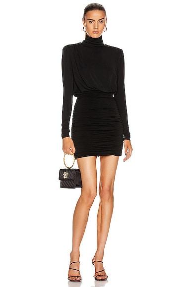 Cinq À Sept Mini dresses CINQ A SEPT ISLA DRESS IN BLACK