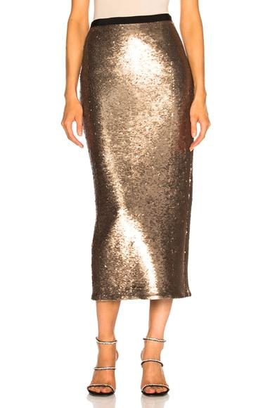 Sequin Paula Skirt