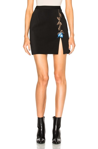 Rose Motif Skirt