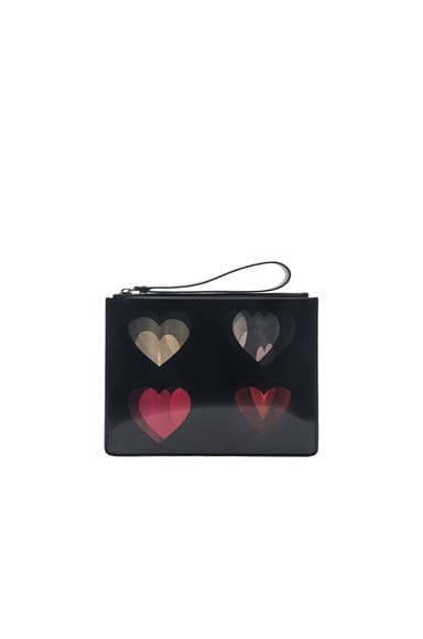 Lenticular Four Heart Clutch