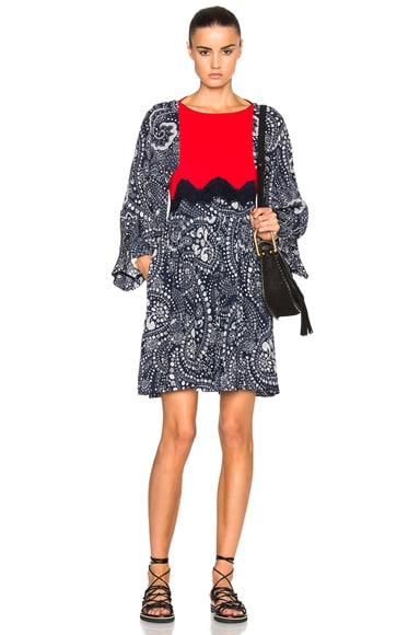 Daisy Chain Gauze Dress