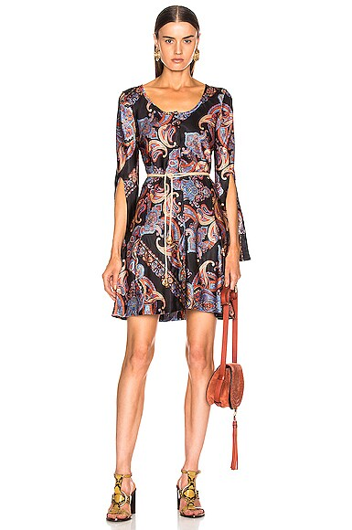 Persian Print Dress