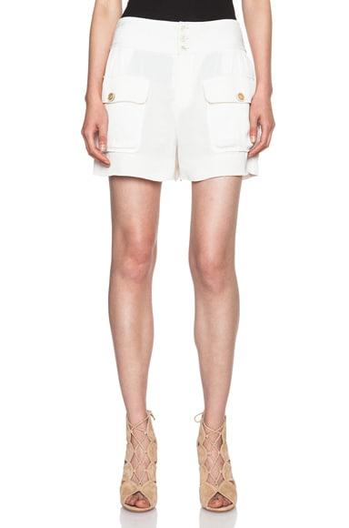 Fluid Crepe Pocket Shorts