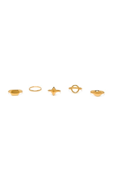 Harlow 7 Ring Set