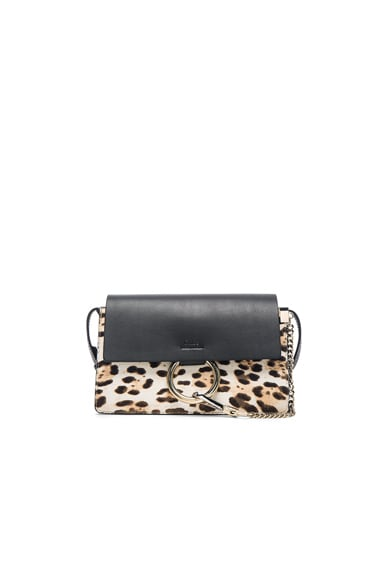 Small Leopard Print Faye Bag