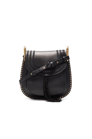 Medium Braided Leather Hudson Bag