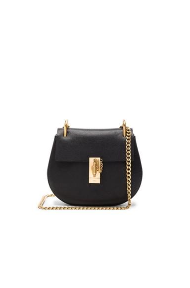 Goatskin & Calfskin Drew Shoulder Bag