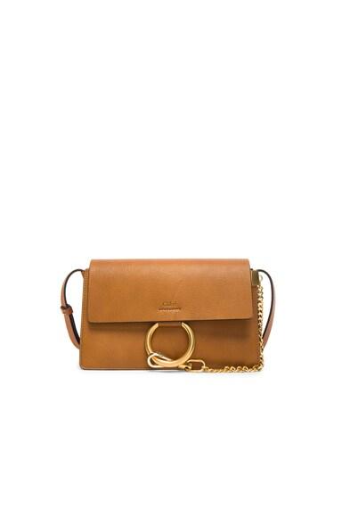 Small Leather Faye Bag – 酱色