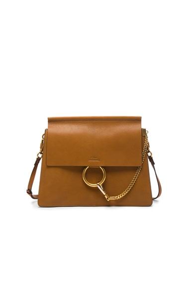 Medium Goatskin Faye Shoulder Bag