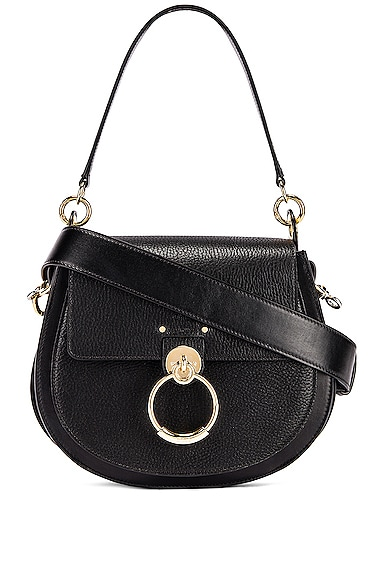 Large Tess Grained Leather Bag