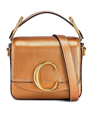 Mini Chloe C Pearl Square Bag