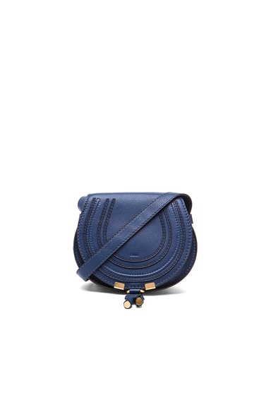 Small Marcie Satchel in Royal Navy