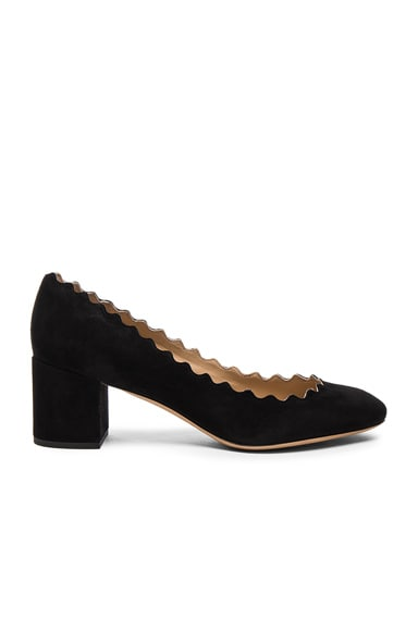 Lauren Suede Pumps