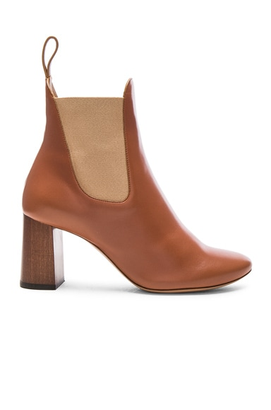 Leather Harper Ankle Boots