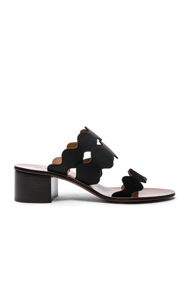 Lauren Leather & Suede Sandals