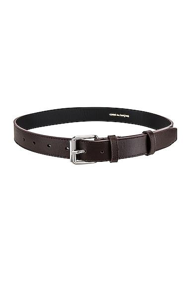 Classic Leather Line B Belt