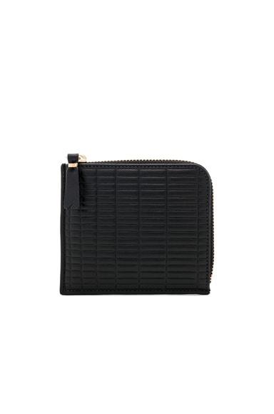 Brick Line Zip Pouch Wallet