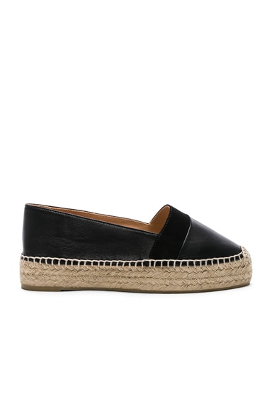 Leather Kikuyu Espadrilles