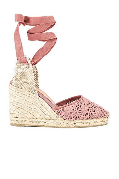 Carina Crochet Espadrille