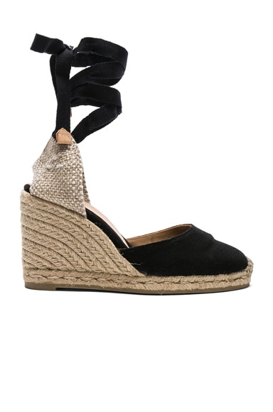 Canvas Carina Wedge Espadrilles