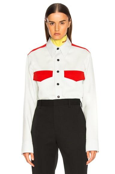 Regular Fit Uniform Shirt
