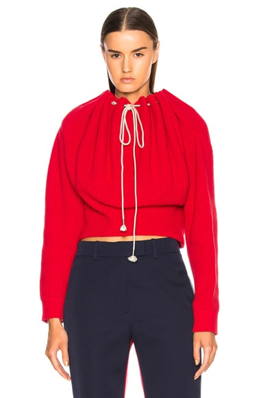 Drawstring Neck Sweater