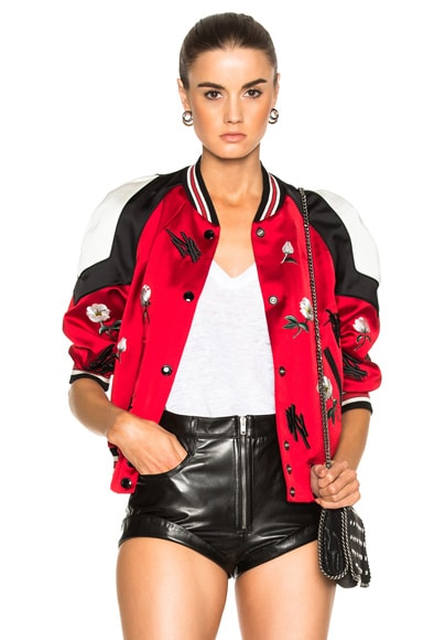 Shrunken Varsity Jacket