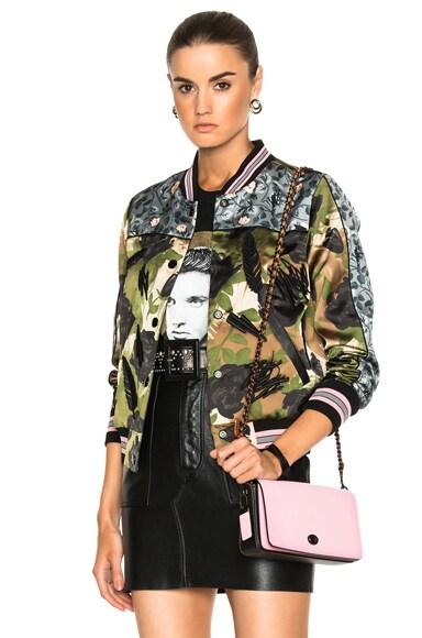 Camo Rose Varsity Jacket