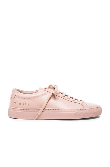 Original Leather Achilles Low in Blush