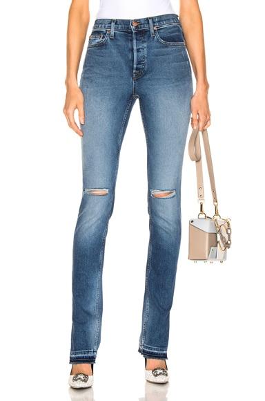 High Split Jean