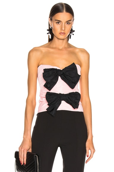 Strapless Bow Top