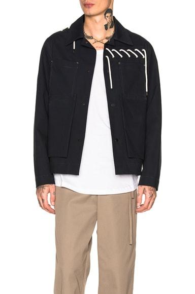 Laced Bonded Worker Jacket