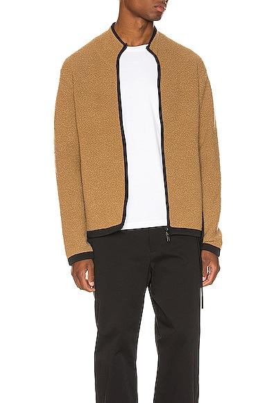 Boucle Zip Jacket