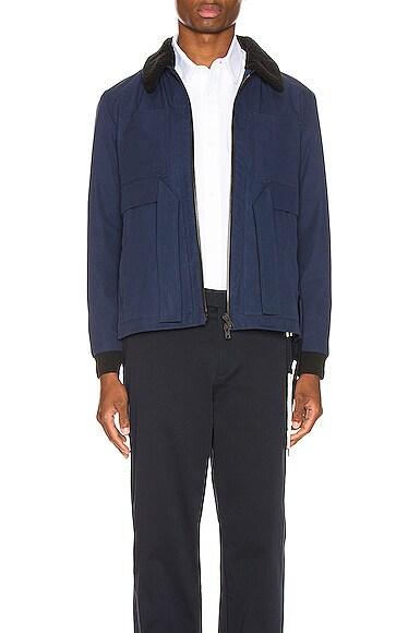Shearling Worker Jacket