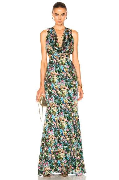 Christina Cowl Draped Gown