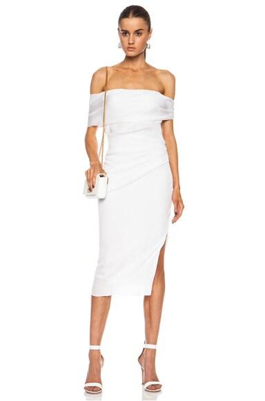 EXCLUSIVE Draped Silk Georgette Dress