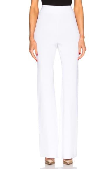 Half Milano Pants in White
