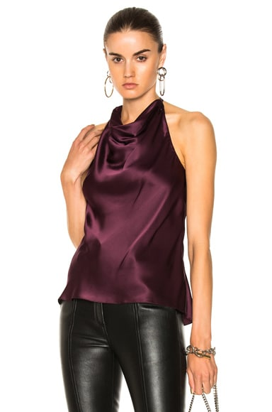 Halter Cowl Neck Top